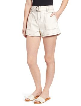 Belted Twill Shorts by Bp.