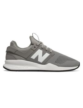 New Balance Men's 247 Shoes Grey With White by New Balance