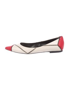 Leather Ballet Flats by Roger Vivier