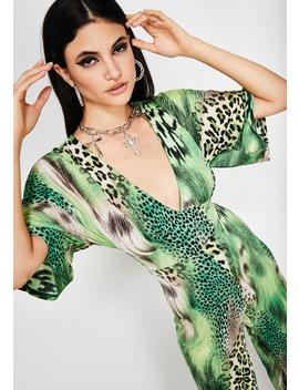 Haute Killa Printed Jumpsuit by