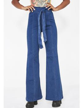 Funkadelic High Waist Jeans by