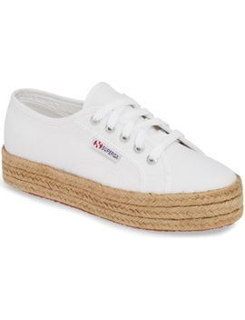 2730 Cotropew Espadrille Platform Sneaker by Superga