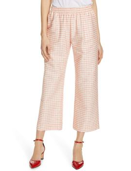 Debra Plaid Wide Leg Pants by Stine Goya