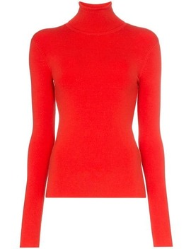 Slim Fit Knitted Turtleneck Jumper by Joseph
