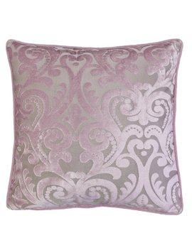 Boes Cut 100 Percents Velvet Throw Pillow by House Of Hampton
