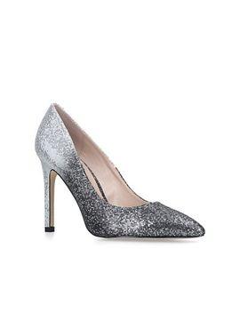 Carvela   Silver 'kashew' High Heel Court Shoes by Carvela