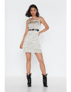 Will Spot At Nothing Spotty Mini Dress by Nasty Gal