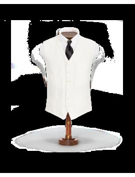 Slim Fit Linen Silk Twill Vest by Ralph Lauren