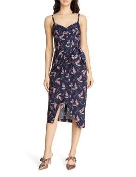 Ivie Floral Sleeveless Cotton Midi Sundress by Rebecca Taylor