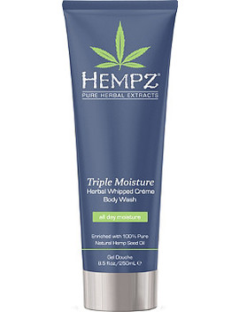 Triple Moisture Herbal Whipped Creme Body Wash by Hempz