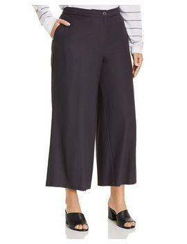Wide Leg Ankle Pants by Eileen Fisher Plus