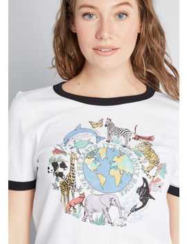Our Only Home Graphic Tee by Modcloth
