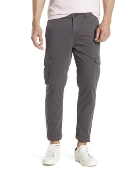 Cargo Stretch Straight Leg Pants by Michael Bastian