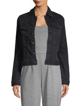 Classic Button Front Denim Jacket by Ag Jeans