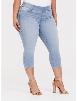 Crop Lean Jean   Light Wash by Torrid