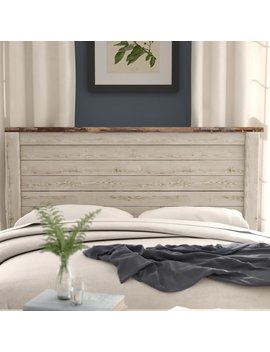 Naples Panel Headboard by Three Posts