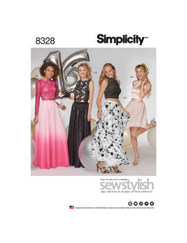 Simplicity Women's Occasion Dress Sewing Pattern, 8328 by Simplicity