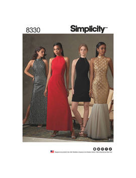 Simplicity Women's Special Occasion Dresses Sewing Pattern, 8330 by Simplicity