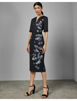 Narrnia Bodycon Dress by Ted Baker
