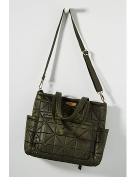 Quilted Carry Love Diaper Tote by Twelv Elittle