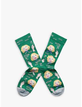 Bonne Maison Blondes Novelty Ankle Socks, Multi by Bonne Maison