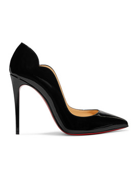 Hot Chick 100 Patent Leather Pumps by Christian Louboutin