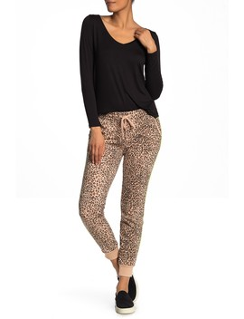 Adele Leopard Print Joggers by Cotton On & Co.
