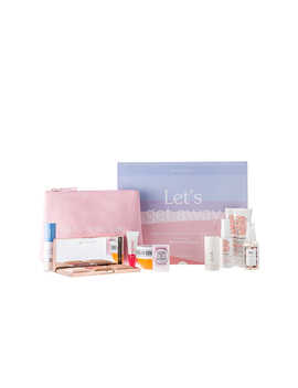 X Marianna Hewitt Let's Get Away Beauty Box by Revolve Beauty