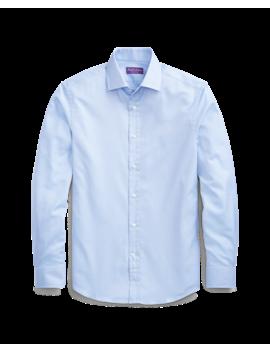 Micro Herringbone Shirt by Ralph Lauren