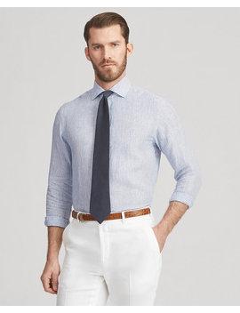 Mini Stripe Linen Shirt by Ralph Lauren