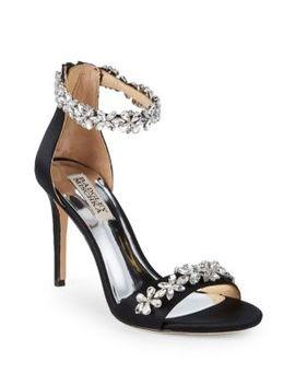 Valentine Embellished Sandals by Badgley Mischka