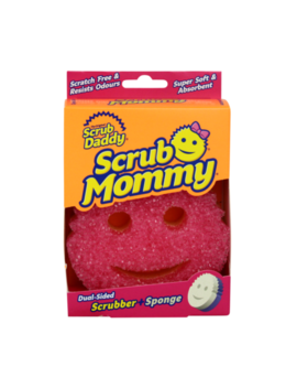 Scrub Mommy Dual Sided Scrubber/Spong<Wbr>E by Ebay Seller