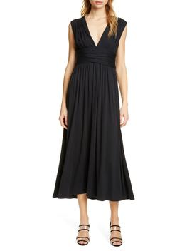 Sollie Sleeveless Cotton Blend Maxi Dress by Joie