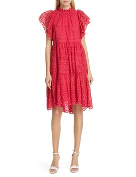 Norah Eyelet Dress by Ulla Johnson