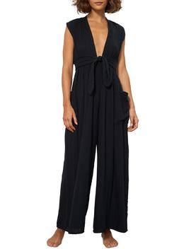 Whitney Organic Cotton Cover Up Jumpsuit by Mara Hoffman