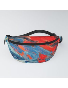 Let Frustrations Flow Fanny Pack by Society6