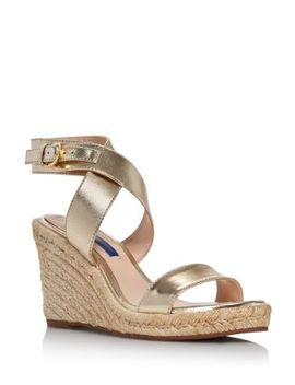 Women's Lexia Espadrille Wedge Sandals by Stuart Weitzman