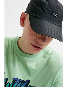 Uo Black Crinkle Nylon 5 Panel Cap by Urban Outfitters Shoppen