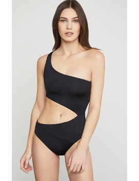One Shoulder Cutout One Piece by Bcbgmaxazria