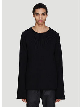Rib Knit Top In Black by Proposition