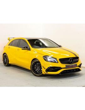 2017 Mercedes Benz A Class A45 4 Matic Yellow Night Edition 5dr Auto Petrol Yello by Ebay Seller