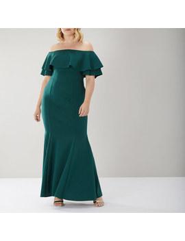 Chloe Bardot Maxi Dress Cc by Coast