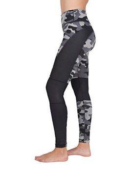 90 Degree By Reflex Etched Camo Print Workout Leggings by 90 Degree+By+Reflex