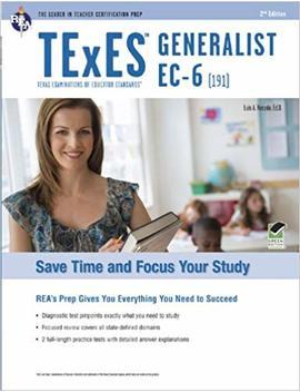 T Ex Es Generalist Ec 6 (191) (T Ex Es Teacher Certification Test Prep) by Amazon