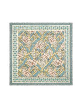 Loraine Floral Wool & Silk Scarf by Gucci