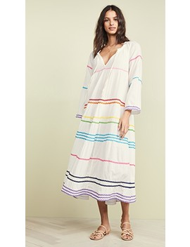 Majorca Long Sleeve Maxi Dress by 9seed