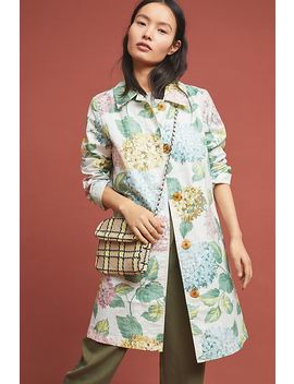 Hydrangea Coat by Anthropologie
