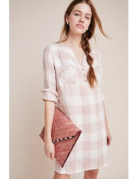 Checked Linen Shirtdress by First Monday