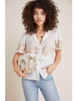 Kathryn Embroidered Blouse by Maeve