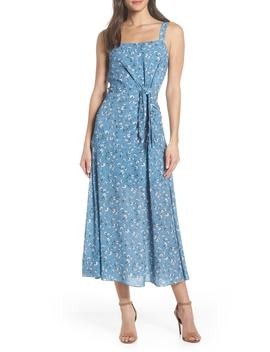 Floral Print Maxi Dress by Chelsea28